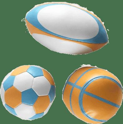 BABYBIRDS První sportovní míčky
