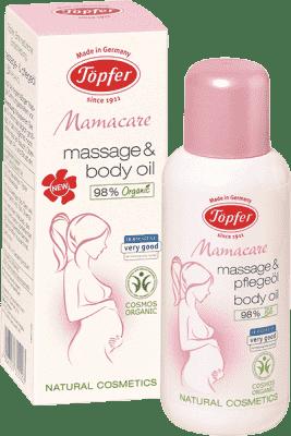 TÖPFER Mamacare masážny a telový olej 100 ml