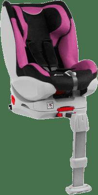 HAUCK Fotelik samochodowy Varioguard 0/1 black/pink 2016