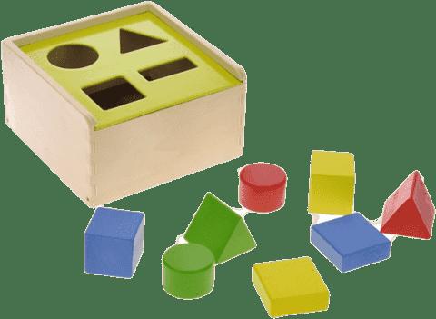2-PLAY Zabawka do wkładania drewniana