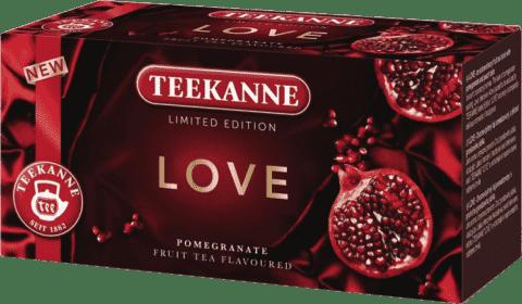 TEEKANNE Herbatka owocowa Limited Edition LOVE, 20 torebek