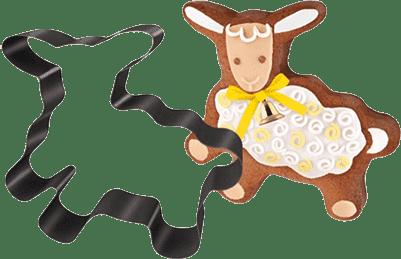 TESCOMA Forma na pečenie/vykrajovátka ovečka DELÍCIA