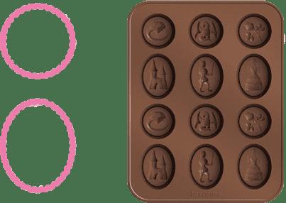 TESCOMA Formičky na čokoládu DELÍCIA KIDS, rozprávka