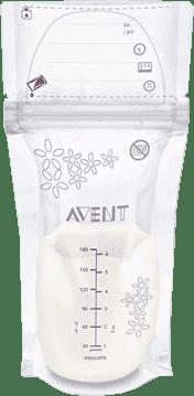 AVENT Woreczki na mleko matki 180 ml 25 szt.