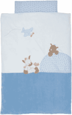 NATTOU Obliečky - paplón 100x140 cm, vankúš 40x60 cm Arthur & Louis