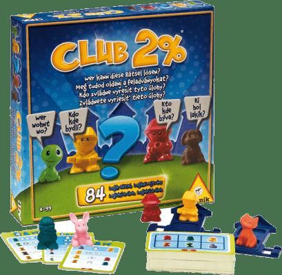 PIATNIK Club 2% (CZ,SK) – společenská hra