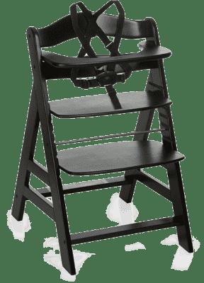 HAUCK Jedálenská stolička Alpha+B blackwashed 2016