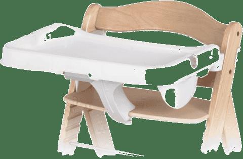 HAUCK Deska k jídelní židličce Alphatray white 2016