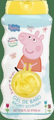 EPLINE Peppa Pig Gąbka i żel pod prysznic 450 ml