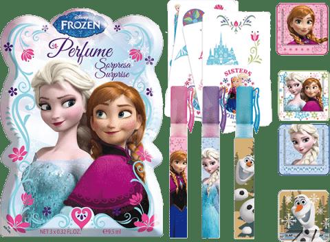 EPLINE Frozen darčeková sada vrece s prekvapením