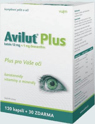 HBF Avilut Plus Recordati -tablet 120+30 zdarma