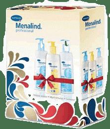 MENALIND Professional, Balíček velký-těl.mléko+mycí emulze+šampon