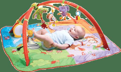 TINY Love Gimnastyka dla bobasa z pałąkami Move & Play 0+