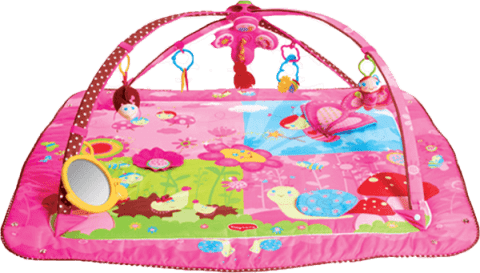 TINY Love Hrací deka s hrazdou Gymini® Tiny Princess ™ Move&Play