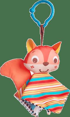 TINY LOVE Zawieszka szeleszcząca książeczka wiewiórka