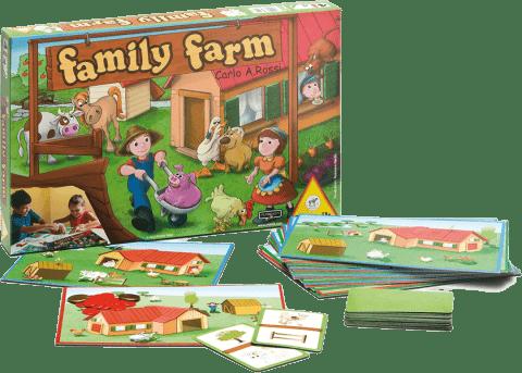 PIATNIK Family Farm (CZ,SK,PL) – společenská hra