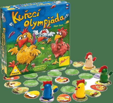 PIATNIK Kuřecí olympiáda (CZ,SK) – společenská hra