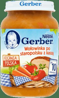 GERBER Wołowinka po staropolsku z kaszą (190g)