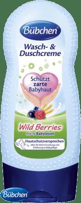 BÜBCHEN Mycí a sprchový krém WildBerries 230ml