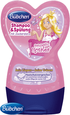 BÜBCHEN Kids šampón s kondicionérom 2v1 Princezná Rosalea 230 ml
