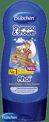 BÜBCHEN Kids šampón sprchový gél 2v1 Ahoj námorníkov 230 ml