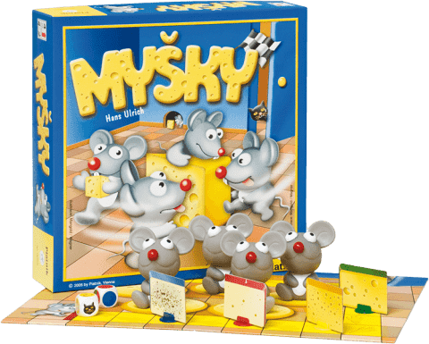 PIATNIK Myšky (CZ,SK)  – společenská hra