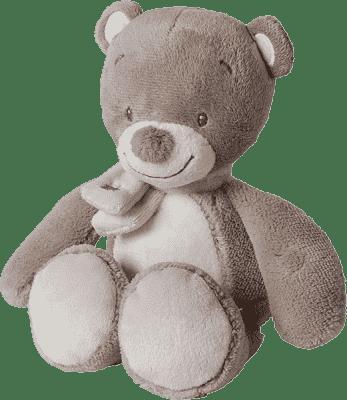 NATTOU Hračka plyšová chrastící medvídek Tom 18cm