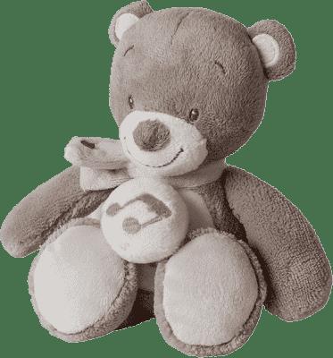 NATTOU Hračka hudební medvídek Tom 24cm