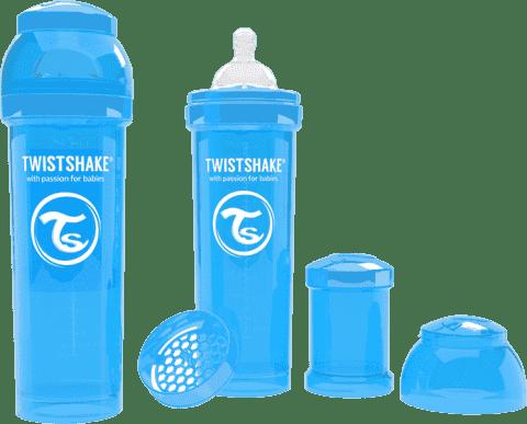 TWISTSHAKE Antikoliková láhev 330ml Modrá