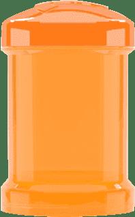 TWISTSHAKE Zásobník 2ks Oranžová