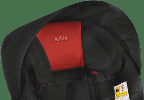 AXKID Sluneční stříška pro autosedačky KidZone/KidZofix Black