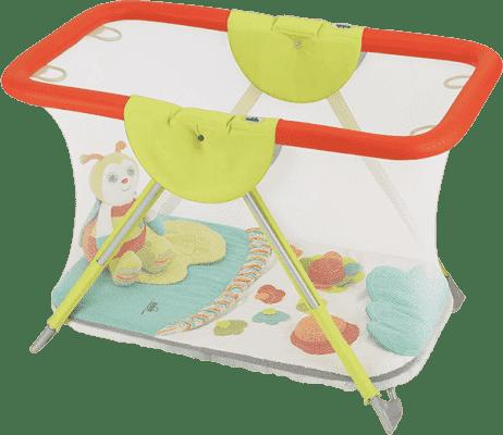 CAM Ohrádka Brevettato s hrací dekou a hračkou - barevná zvířátka