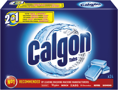 CALGON Tabs 24 ks - tablety na pranie