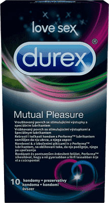 DUREX Mutual Pleasure 10 ks - kondómy