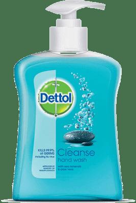 DETTOL Tekuté antibakteriálne mydlo Cleanse 250 ml