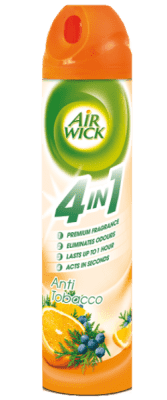 AIRWICK Spray 4in1 Anti Tabak 240 ml
