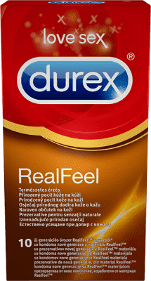 DUREX Real Feel (10 ks) - kondomy