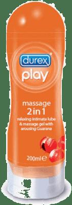 DUREX Play Żel do masażu 2v1 Stymulujący 200 ml
