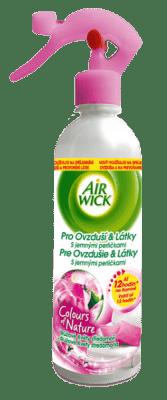 AIRWICK Powietrze&Tkaniny Fuksja i Słodkie kwiaty 345 ml