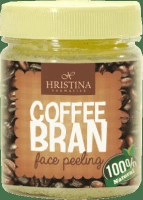 HRISTINA Naturalny peeling z ziaren kawy, 200 ml