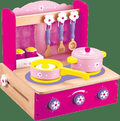 BINO Detský varič s príslušenstvom, 10 dielov