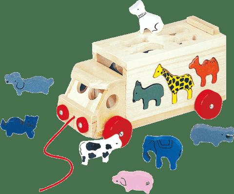 BINO Skladací kamión so zvieratami