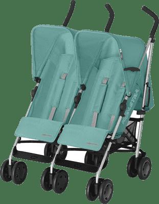 KOELSTRA Wózek spacerowy dla bliźniąt Simba Twin T4 – Jade