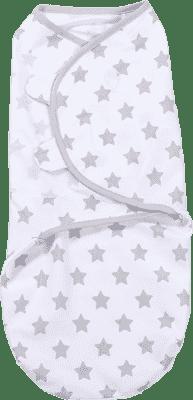 SUMMER INFANT SwaddleMe Zavinovačka S, hvězdy šedé