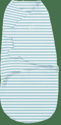 SUMMER INFANT Otulacz SwaddleMe S turkusowe paski