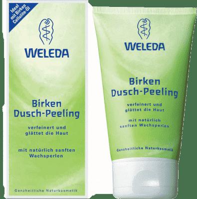 WELEDA Sprchovací peeling Brezový 150 ml
