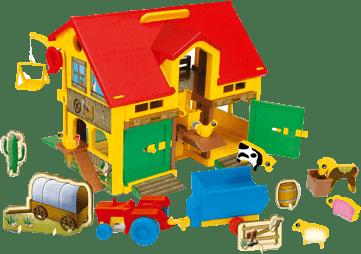 WADER 5450 Play House farma ze zwierzętami