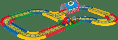 WADER Kid Cars Železnice 3,1 m WADER