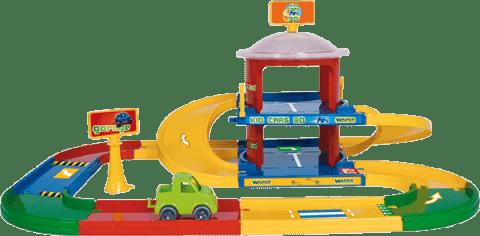 WADER Garáž Kid cars 3D 2 poschodia 3,4 m WADER