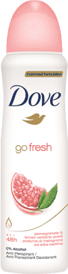 DOVE deo spray Granátové jablko 150ml (antiperspirant)